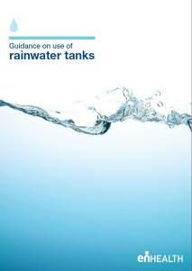 Gov Health guidelines for watertanks