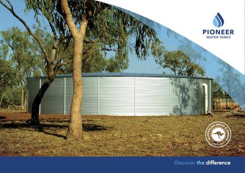 Pioneer water tank brochure
