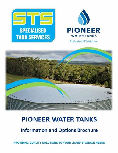 STS Pioneer Water Tanks Rural Brochure