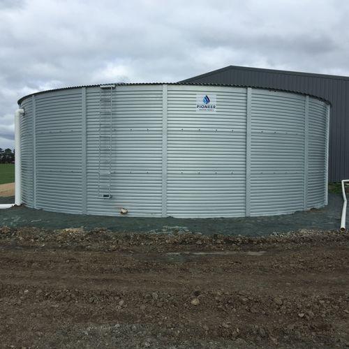 Pioneer water tanks