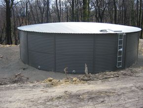 Pioneer Water Tank Sizes